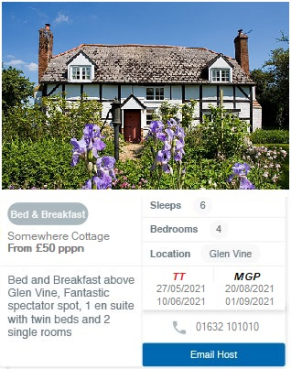Find Your Isle Of Man Homestay Accommodation
